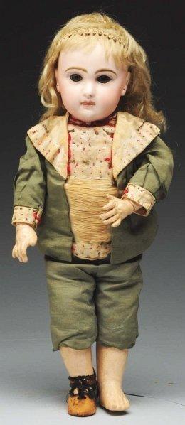 14: Captivating French Bébé Doll.