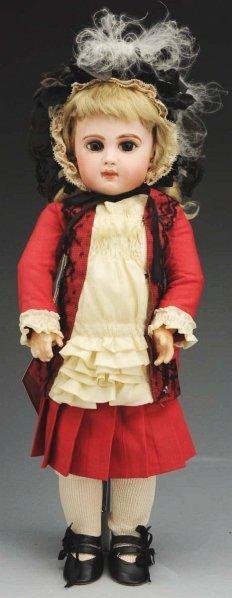 18: Dramatic French Bébé Doll.