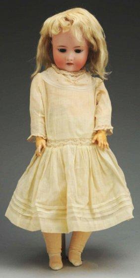 21: German Bisque Child Doll.