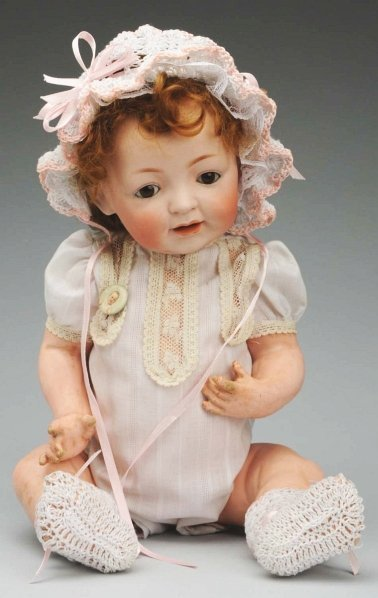 22: Classic Kestner Character Baby Doll.