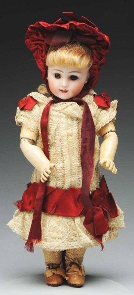 165: Remarkable French Bisque Bébé Doll.