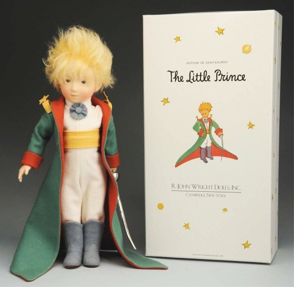 """425: R. John Wright """"The Little Prince"""" Doll."""