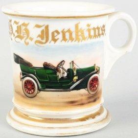 7: Automobile Shaving Mug.
