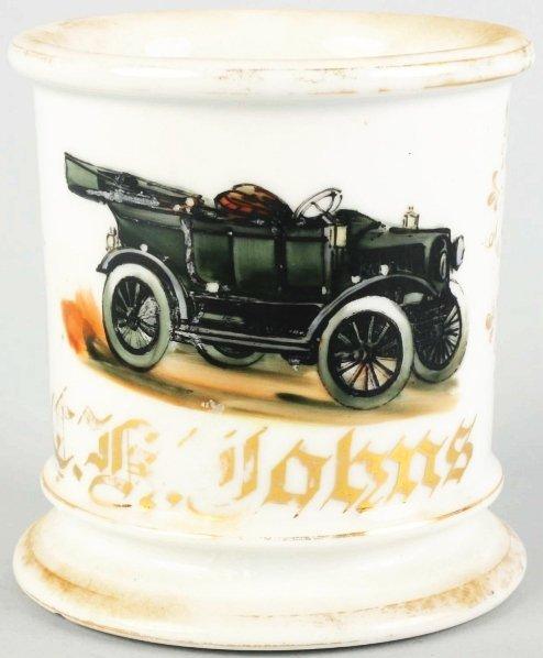 13: Automobile Shaving Mug.