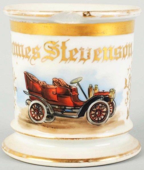 15: Automobile Shaving Mug.