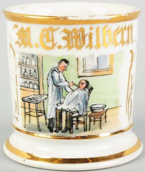 20: Dentist Shaving Mug.