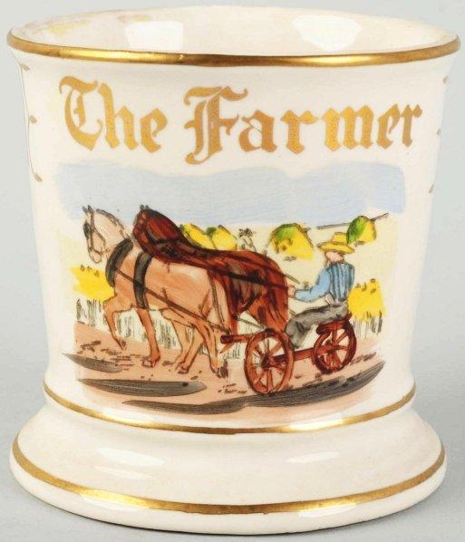 21: The Farmer Shaving Mug.