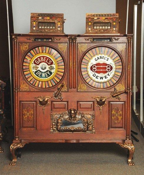 153: Gabel's Double Dewey 5¢ & 25¢ Machine.