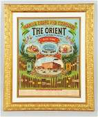 847 The Orient Cigars Paper Sign