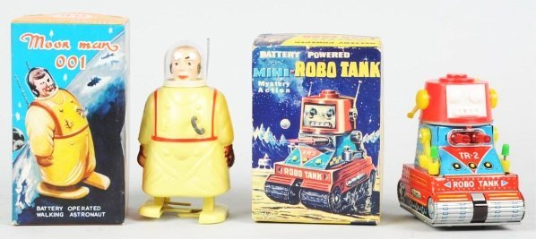 1014: Lot of 2: Battery-Operated Toys.