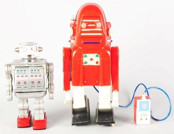 1023: Lot of 2: Tin Toys.