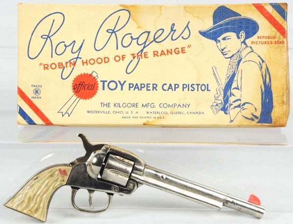 1900: Roy Rogers Long Tom in Box.