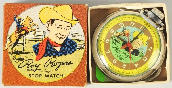 1902: Roy Rogers Western Character Pocket Watch.
