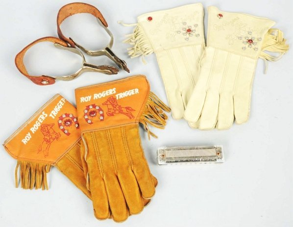 1903: Lot of Roy Rogers Items.