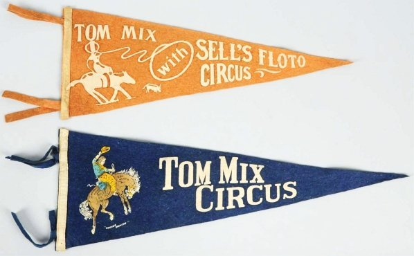 1905: Lot of 3: Tom Mix Advertising Pieces.