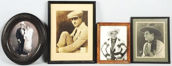 1913: Tom Mix & William Hart Photos.