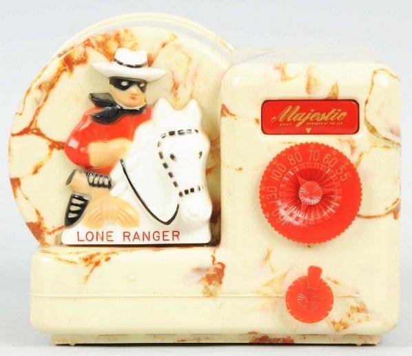 1967: Lone Ranger Beetle Majestic Radio.
