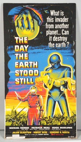 "2395: ""The Day the Earth Stood Still"" Die-Cut Standee."
