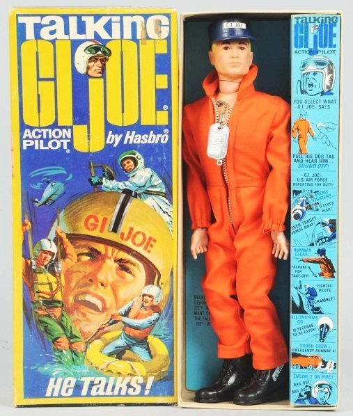 2553: Rare Hasbro Talking G.I. Joe Action Pilot.