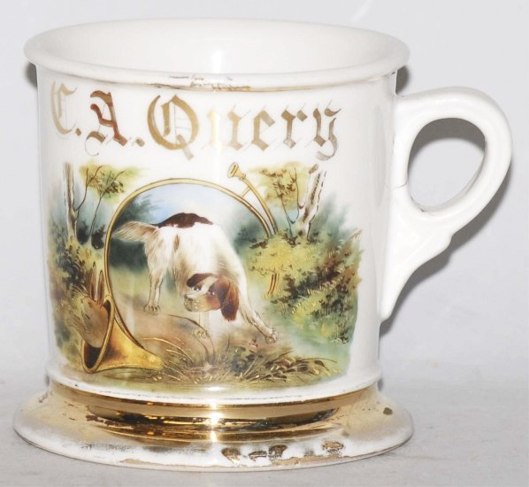4: Hunting Dog Shaving Mug.