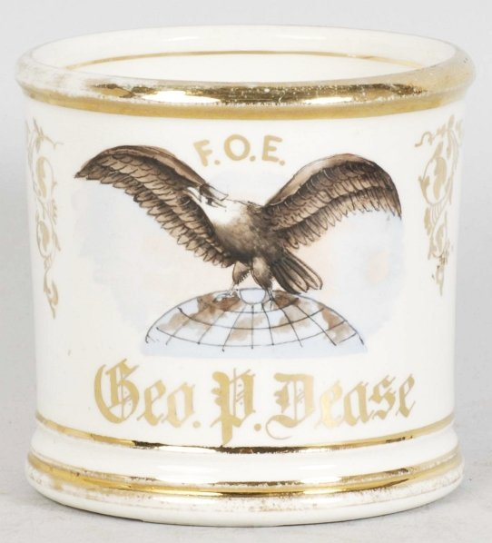 6: Eagle Atop Atlas Shaving Mug.