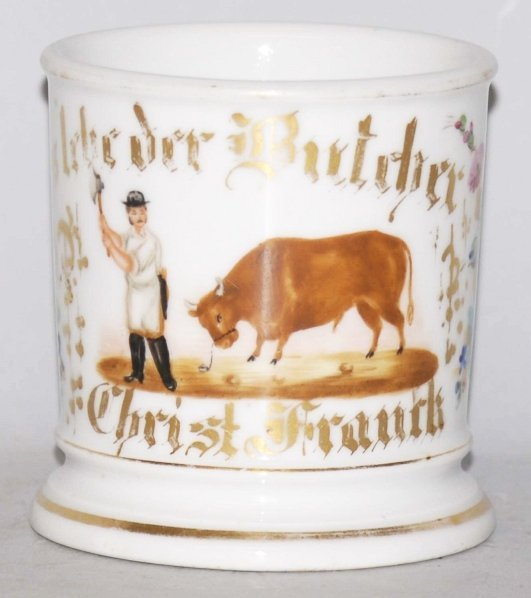 10: Butcher Shaving Mug.