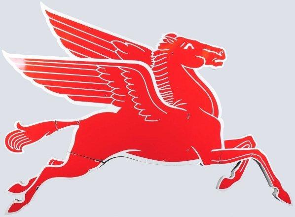51: XL Pegasus Mobil Die-Cut Sign.