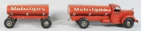 501: Pressed Steel Smith-Miller Tandem Mobilgas Truck.