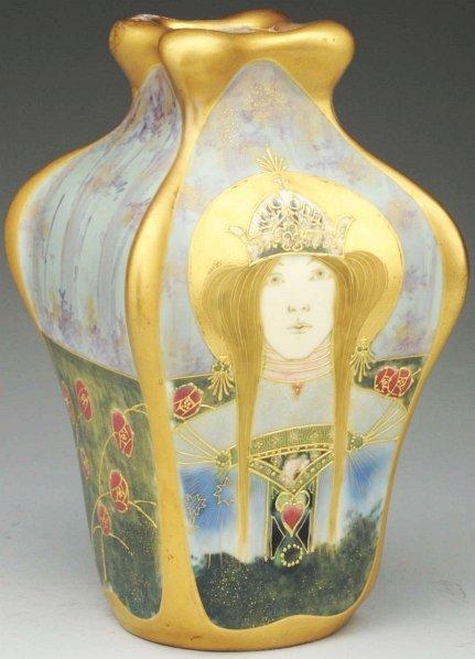 "2: Amphora Portrait Vase, ""Allegory of Russia""."