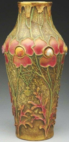 6: Amphora Jeweled Ceramic Vase.