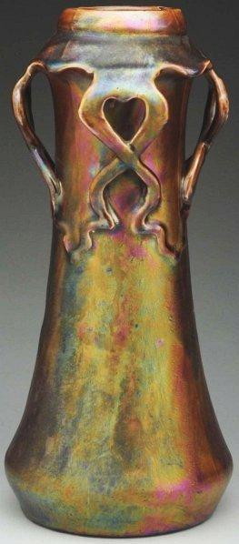 8: Iridized Heliosine Vase.