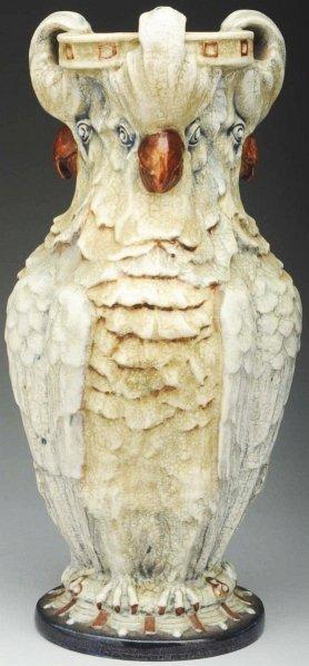 Amphora Cockatoo Vase.