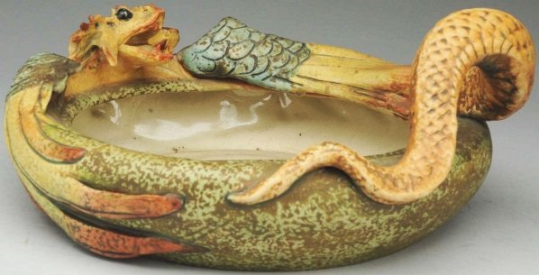 17: Amphora Ceramic Dragon Bowl.
