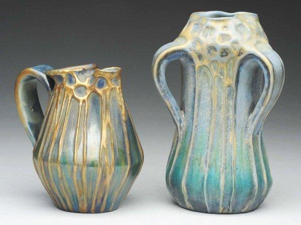 23: Pair of Amphora Ceramic Vases.