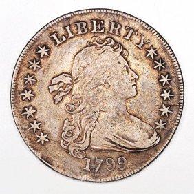 751: 1799 Silver Dollar.