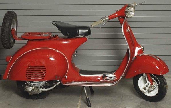 66: 1964 Vespa Sears Allstate Motor Scooter.