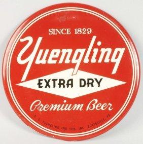 Yuengling Tin Over Cardboard Disc.