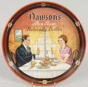 Dawson's Royal Brew Advertising Serving Tray.