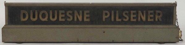 Duquesne Pilsener Light-Up Sign.