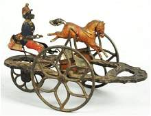 Scarce Early American Tin Bell Toy.