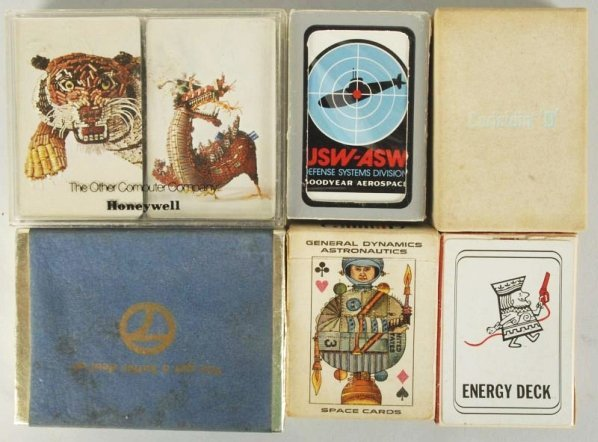 Lot of 6: Card Decks.