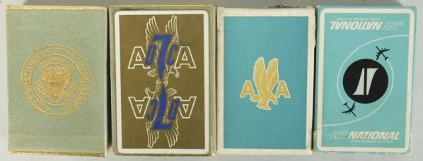 Lot of 4: Assorted Card Decks.