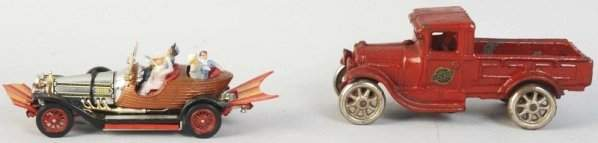 Lot of 2: Vintage Toy Vehicles.