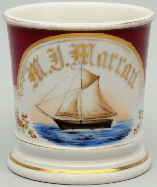Sailboat Shaving Mug.