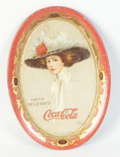 1910 Coca-Cola Tip Tray.