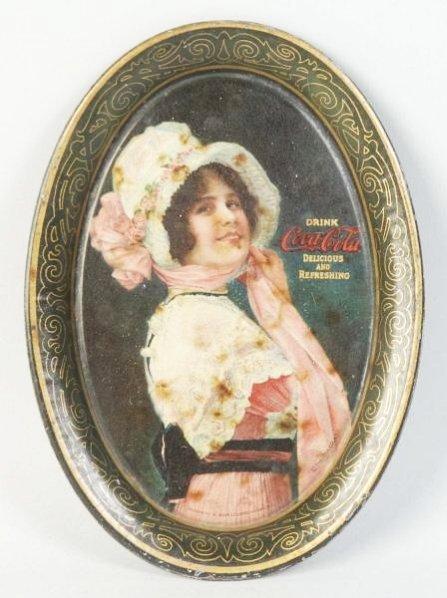 1914 Coca-Cola Tip Tray.