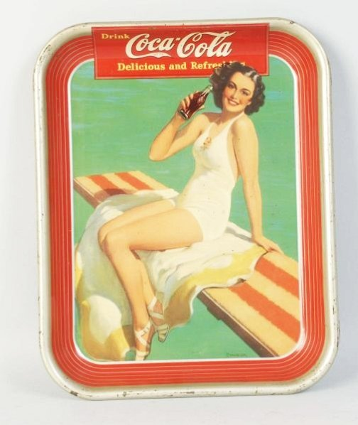 1939 Coca-Cola Serving Tray.