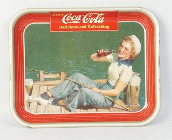 1940 Coca-Cola Tray.