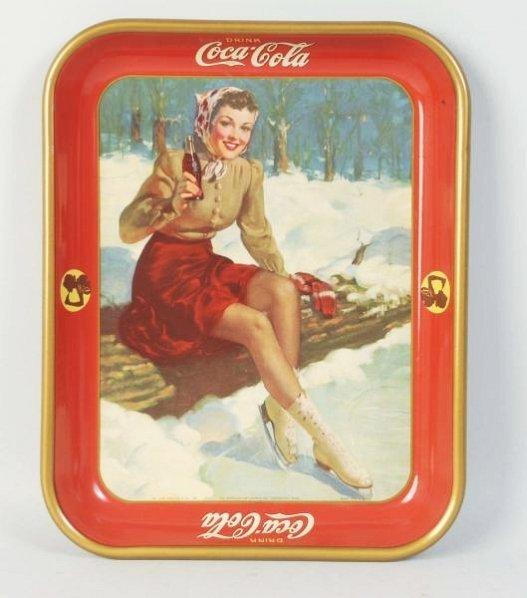 1941 Coca-Cola Tray.