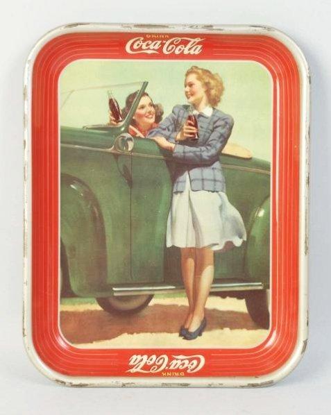 1942 Coca-Cola Tray.
